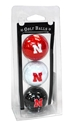 Husker Golf Balls Nebraska Cornhuskers, husker football, nebraska cornhuskers merchandise, husker merchandise, nebraska merchandise, nebraska cornhuskers golf accessories, husker golf accessories, nebraska golf accessories, nebraska golf merchandise, husker golf merchandise, nebraska cornhuskers golf merchandise, 3 Pack of Husker Golf Balls
