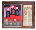 5 Years Of Dominance Plaque Nebraska Cornhuskers, 5 Years Of Dominance Plaque