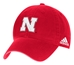 Adidas 2017 Husker Coach Red Slouch - HT-A5114