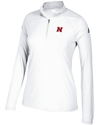Adidas 2017 Ladies Home Game Husker Qtr Zip Nebraska Cornhuskers, Nebraska  Ladies Outerwear, Huskers  Ladies Outerwear, Nebraska  Ladies, Huskers  Ladies, Nebraska Adidas W White Qtr Zip Nebraska Logo, Huskers Adidas W White Qtr Zip Nebraska Logo