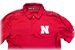 Adidas 2018 Husker Coaches Sideline Polo - Red - AP-B8000