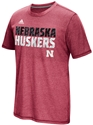 Adidas Aero Knit Huskers Energy Shock Sideline Tee - Red Nebraska Cornhuskers, Nebraska  Short Sleeve, Huskers  Short Sleeve, Nebraska  Mens T-Shirts, Huskers  Mens T-Shirts, Nebraska  Mens, Huskers  Mens, Nebraska Adidas Aero Knit Huskers Energy Shock Sideline Tee - Red, Huskers Adidas Aero Knit Huskers Energy Shock Sideline Tee - Red