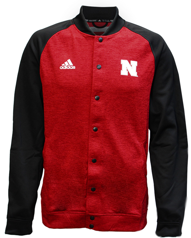 Adidas Go Big Red Sideline Button Up Jacket - AW-93041