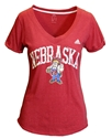 Adidas Herbie Arch Nebraska VNeck Nebraska Cornhuskers, Nebraska  Ladies Tops, Huskers  Ladies Tops, Nebraska  Ladies T-Shirts, Huskers  Ladies T-Shirts, Nebraska  Ladies, Huskers  Ladies, Nebraska  Short Sleeve, Huskers  Short Sleeve, Nebraska Adidas W Red SS Vneck Vault Arch, Huskers Adidas W Red SS Vneck Vault Arch