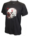Adidas Huser Speed Helmet Black Tee Nebraska Cornhuskers, Nebraska  Mens T-Shirts, Huskers  Mens T-Shirts, Nebraska  Mens, Huskers  Mens, Nebraska  Short Sleeve, Huskers  Short Sleeve, Nebraska Adidas SS Black Ultimate Helmet Tee, Huskers Adidas SS Black Ultimate Helmet Tee