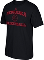 Adidas Arch Nebraska Basketball Tee Nebraska Cornhuskers, Nebraska  Short Sleeve, Huskers  Short Sleeve, Nebraska  Mens T-Shirts, Huskers  Mens T-Shirts, Nebraska  Mens, Huskers  Mens, Nebraska  Basketball, Huskers  Basketball, Nebraska Adidas Husker Basket Ball Tee - Black, Huskers Adidas Husker Basket Ball Tee - Black