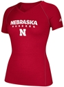 Adidas Husker Ladies Climalite Sideline Tee Nebraska Cornhuskers, Nebraska  Ladies Tops, Huskers  Ladies Tops, Nebraska  Ladies T-Shirts, Huskers  Ladies T-Shirts, Nebraska  Ladies, Huskers  Ladies, Nebraska  Short Sleeve, Huskers  Short Sleeve, Nebraska Adidas W Red SS Climalite Sideline, Huskers Adidas W Red SS Climalite Sideline