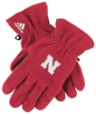 Adidas Husker N Fleece Glove - Red Nebraska Cornhuskers, Nebraska  Ladies, Huskers  Ladies, Nebraska  Ladies Outerwear, Huskers  Ladies Outerwear, Nebraska  Ladies Accessories, Huskers  Ladies Accessories, Nebraska  Mens, Huskers  Mens, Nebraska  Mens, Huskers  Mens, Nebraska  Mens Outerwear, Huskers  Mens Outerwear, Nebraska Adidas Husker N Fleece Glove - Red, Huskers Adidas Husker N Fleece Glove - Red