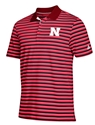 Adidas Husker Red N Black Striped Golf Polo Nebraska Cornhuskers, Nebraska  Mens Polos, Huskers  Mens Polos, Nebraska Polos, Huskers Polos, Nebraska Golf Items, Huskers Golf Items, Nebraska Adidas Husker Red N Black Striped Golf Polo, Huskers Adidas Husker Red N Black Striped Golf Polo