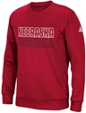 Adidas Husker Stitch Embroidered  Tech Crew - Red Nebraska Cornhuskers, Nebraska  Crew, Huskers  Crew, Nebraska  Mens Sweatshirts, Huskers  Mens Sweatshirts, Nebraska  Mens, Huskers  Mens, Nebraska Adidas Husker Stitch Embroidered  Tech Crew - Red, Huskers Adidas Husker Stitch Embroidered  Tech Crew - Red