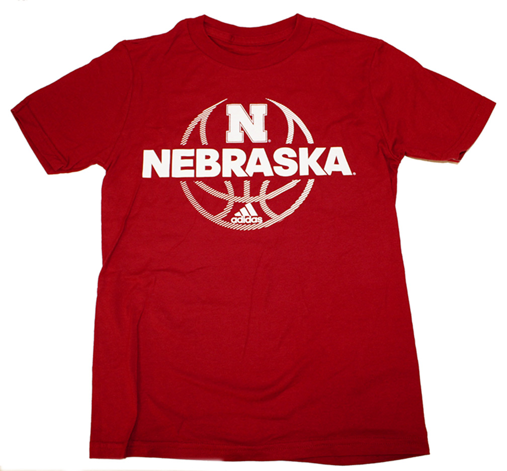 Adidas Huskers Hoops Youth Fade Away Tee Nebraska Cornhuskers, Nebraska  Youth, Huskers  Youth, Nebraska  Kids, Huskers  Kids, Nebraska Adidas Huskers Hoops Youth Fade Away Tee, Huskers Adidas Huskers Hoops Youth Fade Away Tee