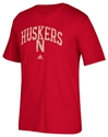 Adidas Huskers N Pastime Arch Tee Nebraska Cornhuskers, Nebraska  Ladies Tops, Huskers  Ladies Tops, Nebraska  Ladies T-Shirts, Huskers  Ladies T-Shirts, Nebraska  Ladies, Huskers  Ladies, Nebraska  Short Sleeve, Huskers  Short Sleeve, Nebraska Adidas Red SS Triblend Pastime Arch Tee, Huskers Adidas Red SS Triblend Pastime Arch Tee