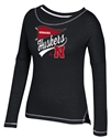 Adidas Huskers Stitched Pennant Long Sleeve Nebraska Cornhuskers, Nebraska  Ladies T-SHIrts, Huskers  Ladies T-SHIrts, Nebraska  Ladies Tops, Huskers  Ladies Tops, Nebraska  Long Sleeve, Huskers  Long Sleeve, Nebraska  Ladies, Huskers  Ladies, Nebraska Adidas W Black LS Tee Pennant , Huskers Adidas W Black LS Tee Pennant