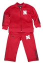 Adidas Lil Huskers Performance Track Set Nebraska Cornhuskers, Nebraska  Childrens, Huskers  Childrens, Nebraska  Infant, Huskers  Infant, Nebraska Adidas Lil Huskers Performance Track Set , Huskers Adidas Lil Huskers Performance Track Set