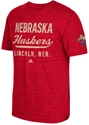 Adidas Lincoln Herbie Chipped Tee Nebraska Cornhuskers, Nebraska  Mens T-Shirts, Huskers  Mens T-Shirts, Nebraska  Mens, Huskers  Mens, Nebraska  Short Sleeve, Huskers  Short Sleeve, Nebraska Adidas Red SS TriBlend Stenciled, Huskers Adidas Red SS TriBlend Stenciled