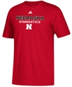 Adidas Nebraska Gymnastics Rush Tee Nebraska Cornhuskers, Nebraska  Mens T-Shirts, Huskers  Mens T-Shirts, Nebraska  Mens, Huskers  Mens, Nebraska  Other Sports, Huskers  Other Sports, Nebraska  Short Sleeve, Huskers  Short Sleeve, Nebraska Adidas Nebraska Gymnastics Rush Tee, Huskers Adidas Nebraska Gymnastics Rush Tee