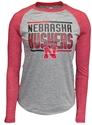 Youth Adidas Nebraska Huskers Bar Stack Raglan Nebraska Cornhuskers, Nebraska  Youth, Huskers  Youth, Nebraska  Kids, Huskers  Kids, Nebraska  Long Sleeve, Huskers  Long Sleeve, Nebraska Adidas Nebraska Huskers Bar Stack Raglan, Huskers Adidas Nebraska Huskers Bar Stack Raglan