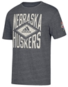 Adidas Nebraska Huskers  Diamond TriBlend Tee Nebraska Cornhuskers, Nebraska  Mens T-Shirts, Huskers  Mens T-Shirts, Nebraska  Mens, Huskers  Mens, Nebraska  Short Sleeve, Huskers  Short Sleeve, Nebraska Adidas Black SS TriBlend Diamond, Huskers Adidas Black SS TriBlend Diamond
