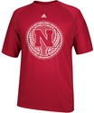 Adidas Red Basketball Climalite Nebraska Cornhuskers, Nebraska  Mens T-Shirts, Huskers  Mens T-Shirts, Nebraska  Basketball , Huskers  Basketball , Nebraska  Mens, Huskers  Mens, Nebraska Adidas Red Basketball Climalite, Huskers Adidas Red Basketball Climalite