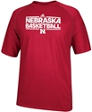 Adidas Red Nebraska Basketball Short Sleeve Tee Nebraska Cornhuskers, Nebraska  Mens T-Shirts, Huskers  Mens T-Shirts, Nebraska  Mens, Huskers  Mens, Nebraska  Short Sleeve, Huskers  Short Sleeve, Nebraska  Basketball  , Huskers  Basketball  , Nebraska Adidas Red Nebraska Basketball Short Sleeve Tee, Huskers Adidas Red Nebraska Basketball Short Sleeve Tee