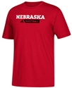 Adidas Husker Home Game Gridiron Tee Nebraska Cornhuskers, Nebraska  Mens T-Shirts, Huskers  Mens T-Shirts, Nebraska  Mens, Huskers  Mens, Nebraska  Short Sleeve, Huskers  Short Sleeve, Nebraska Adidas Red SS Go To Sideline Gridiron, Huskers Adidas Red SS Go To Sideline Gridiron