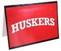 Arch Husker Greeting Card Nebraska Cornhuskers, Nebraska  Holiday Items, Huskers  Holiday Items, Nebraska Outline Everyday Card FG, Huskers Outline Everyday Card FG