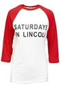 Ash Saturdays in Lincoln Raglan Tee Nebraska Cornhuskers, Nebraska  Ladies T-Shirts, Huskers  Ladies T-Shirts, Nebraska  Ladies Tops, Huskers  Ladies Tops, Nebraska  Ladies, Huskers  Ladies, Nebraska  Tailgating, Huskers  Tailgating, Nebraska Ash Saturdays in Lincoln Raglan Tee, Huskers Ash Saturdays in Lincoln Raglan Tee