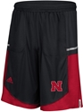 Black Adidas Player Hi Vis Sideline Short Nebraska Cornhuskers, Nebraska  Mens Shorts & Pants, Huskers  Mens Shorts & Pants, Nebraska Shorts & Pants, Huskers Shorts & Pants, Nebraska Adidas Nebraska Hi Vis Climalite Sports Short, Huskers Adidas Nebraska Hi Vis Climalite Sports Short