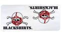 Blackshirts Removable Decal Mini Nebraska Cornhuskers, Nebraska Vehicle, Huskers Vehicle, Nebraska Stickers Decals & Magnets, Huskers Stickers Decals & Magnets, Nebraska Blackshirts Removable Decal Mini, Huskers Blackshirts Removable Decal Mini