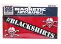 Blackshirts Slant Mini Magnet Nebraska Cornhuskers, Nebraska Vehicle, Huskers Vehicle, Nebraska Stickers Decals & Magnets, Huskers Stickers Decals & Magnets, Nebraska Blackshirts, Huskers Blackshirts, Nebraska Blackshirts Slant Mini Magnet, Huskers Blackshirts Slant Mini Magnet