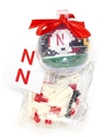 Build Your Own Husker Lego Ornament Nebraska Cornhuskers, Nebraska  Holiday Items, Huskers  Holiday Items, Nebraska Build Your Own Ball Ornament, Huskers Build Your Own Ball Ornament
