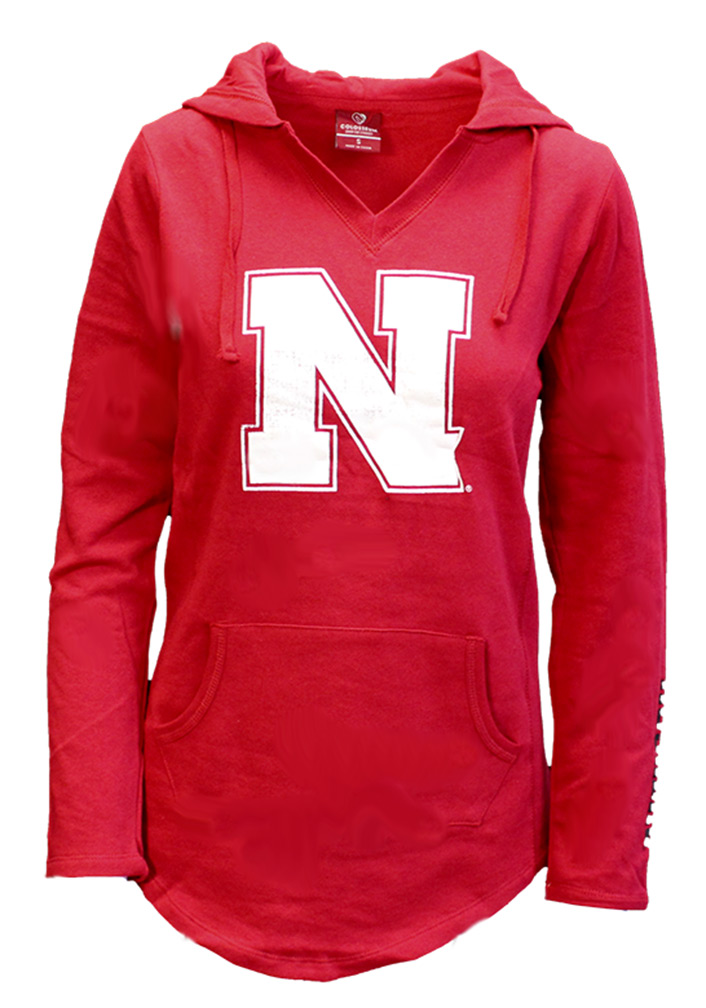 Colosseum Husker Hooded VNeck Tunic Nebraska Cornhuskers, Nebraska  Ladies Tops, Huskers  Ladies Tops, Nebraska  Ladies Sweatshirts, Huskers  Ladies Sweatshirts, Nebraska  Ladies , Huskers  Ladies , Nebraska Colosseum Husker Hooded VNeck Tunic, Huskers Colosseum Husker Hooded VNeck Tunic