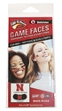 Combo Pack Waterless Tattoos & Eye Strips Nebraska Cornhuskers, N Husker Waterless Tattoo, Eye Strips, Combo pack