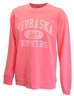 Coral Dyed Huskers Crew Sweatshirt - AS-A1205