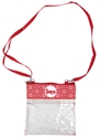 Crossbody Clear Gameday Huskers Purse Nebraska Cornhuskers, Nebraska  Ladies, Huskers  Ladies, Nebraska  Bags Purses & Wallets, Huskers  Bags Purses & Wallets, Nebraska  Ladies Accessories, Huskers  Ladies Accessories, Nebraska Crossbody Clear Gameday Purse Desden, Huskers Crossbody Clear Gameday Purse Desden