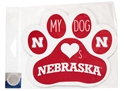 Dog Loves Nebraska Magnet Nebraska Cornhuskers, Nebraska Vehicle, Huskers Vehicle, Nebraska Stickers Decals & Magnets, Huskers Stickers Decals & Magnets, Nebraska Pet Items, Huskers Pet Items, Nebraska Dog Loves Nebraska Magnet, Huskers Dog Loves Nebraska Magnet
