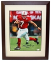 Eric Crouch Autographed Heisman Run Framed Print Nebraska Cornhuskers, husker football, nebraska cornhuskers merchandise, husker merchandise, nebraska merchandise, husker memorabilia, husker autographed, nebraska cornhuskers autographed, nebraska cornhuskers memorabilia, nebraska cornhuskers collectible, Official Eric Crouch Autographed Heisman Print