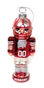 Glass Husker Nutcracker Ornament Nebraska Cornhuskers, Nebraska  Novelty, Huskers  Novelty, Nebraska  Holiday Items, Huskers  Holiday Items, Nebraska Glass Nutcracker Ornament , Huskers Glass Nutcracker Ornament