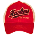 Go Big Red Huskers Vintage Hat Nebraska Cornhuskers, Nebraska  Mens Hats, Huskers  Mens Hats, Nebraska  Mens Hats, Huskers  Mens Hats, Nebraska Go Big Red Huskers Vintage Hate, Huskers Go Big Red Huskers Vintage Hat