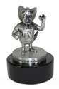 Herbie Husker Pewter Statue Nebraska Cornhuskers, Nebraska Collectibles , Huskers Collectibles , Nebraska Pewter Old Herbie Statue, Huskers Pewter Old Herbie Statue