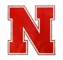 Holographic N Logo Decal Nebraska Cornhuskers, Nebraska Vehicle, Huskers Vehicle, Nebraska Stickers Decals & Magnets, Huskers Stickers Decals & Magnets, Nebraska Holographic N Logo Decal, Huskers Holographic N Logo Decal