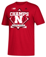 Husker Baseball 2017 Big Ten Champs Tee Nebraska Cornhuskers, Nebraska  Mens T-Shirts, Huskers  Mens T-Shirts, Nebraska  Mens, Huskers  Mens, Nebraska  Short Sleeve, Huskers  Short Sleeve, Nebraska  Baseball, Huskers  Baseball, Nebraska Grey Husker Bsball Tee, Husker Baseball 2017 Big Ten Champs Tee