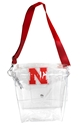 Husker Clear Ticket Satchel Nebraska Cornhuskers, Nebraska  Bags Purses & Wallets, Huskers  Bags Purses & Wallets, Nebraska  Tailgating, Huskers  Tailgating, Nebraska  Ladies, Huskers  Ladies, Nebraska Husker Clear Ticket Satchel, Huskers Husker Clear Ticket Satchel