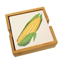Husker Corn-Cob Coaster Wood Base Set Nebraska Cornhuskers, Nebraska  Kitchen & Glassware, Huskers  Kitchen & Glassware, Nebraska  Game Room & Big Red Room, Huskers  Game Room & Big Red Room, Nebraska  Office Den & Entry, Huskers  Office Den & Entry, Nebraska Husker Corn-Cob Coaster Wood Base Set, Huskers Husker Corn-Cob Coaster Wood Base Set