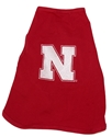 Husker Doggy Muscle Tee Nebraska Cornhuskers, Nebraska Pet Items, Huskers Pet Items, Nebraska Husker Doggy Muscle Tee, Huskers Husker Doggy Muscle Tee