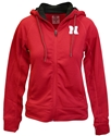 Husker Gals Full Zip Medley Hoodie Nebraska Cornhuskers, Nebraska  Ladies Sweatshirts, Huskers  Ladies Sweatshirts, Nebraska  Ladies, Huskers  Ladies, Nebraska  Zippered, Huskers  Zippered, Nebraska Red W Medley Full Zip Hoodie Col, Huskers Red W Medley Full Zip Hoodie Col