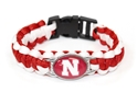 Husker N Shoestring Weave Wrap Nebraska Cornhuskers, Nebraska  Ladies Accessories, Huskers  Ladies Accessories, Nebraska  Jewelry & Hair, Huskers  Jewelry & Hair, Nebraska Nebraska Husker N Shoestring Weave Wrap, Huskers Nebraska Husker N Shoestring Weave Wrap