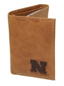 Husker N Tri-Fold Leather Wallet Nebraska Cornhuskers, husker football, nebraska cornhuskers merchandise, nebraska merchandise, husker merchandise, nebraska cornhuskers apparel, husker apparel, nebraska apparel, husker mens apparel, nebraska cornhuskers mens apparel, nebraska mens apparel, husker mens merchandise, nebraska cornhuskers mens merchandise, mens nebraska accessories, mens husker accessories, mens nebraska cornhusker accessories,LEATHER TRI-FOLD WALLET