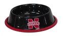 Husker Pet Bowl Nebraska Cornhuskers, husker football, nebraska merchandise, husker merchandise, nebraska cornhusker merchandise, nebraska cornhuskers pet items, husker pet items, husker dog bowl, nebraska dog bowl, husker pet bowl, nebraska cornhuskers pet bowl, nebraska cornhuskers dog bowl, Stainless Steel Black Pet Bowl