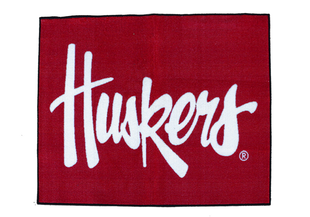 Huskers All Star Rug Nebraska Cornhuskers, Nebraska  Game Room & Big Red Room, Huskers  Game Room & Big Red Room, Nebraska  Office Den & Entry, Huskers  Office Den & Entry, Nebraska  Bedroom & Bathroom, Huskers  Bedroom & Bathroom, Nebraska All-Star, Huskers All-Star